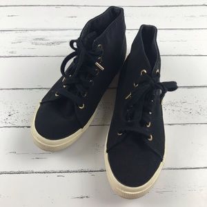Superga X The Row High Tops Size 5